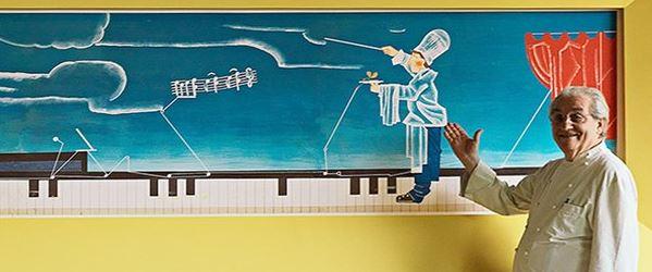 gualtiero marchesi chef italiano più famoso al mondo fondazione scomparso erbusco franciacorta risotto oro zafferano agnetto ricette food creativity stories & news