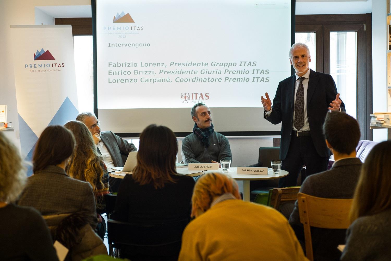 premio itas del libro di montagna creativity stories & news creatività italiana scrittori italiani premio letterario ilaria rebecchi 2018